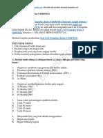 50+ Contoh Soal UAS Penjaskes Kelas 9 SMP MTs Semester Ganjil