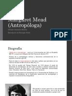 Margaret Mead (Antropóloga)