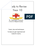 Yr 10 Revision Booklet