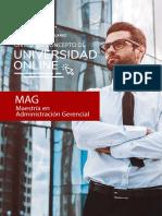 Brochure - Maestría en Administración Gerencial - Universidad Benito Juarez