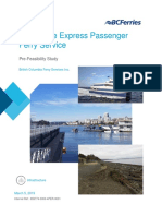 West Shore Ferry Pre-Feasibility Study