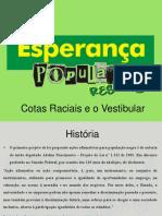 Cotas Raciais e o Vestibular