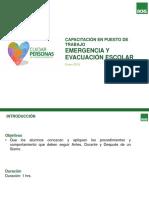 Emergencia y Evacuación Escolar