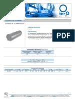 Tablas de aluminio