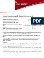 Archimedes & Water Displacement