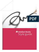 Styles in writing Guide from Intellect Books