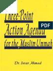 Three Point Agenda for Muslims