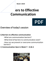 week 5 final Barriers to effective communication SH4000 TERM 2  Lecture slides.pptx