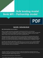 Bank MFI – Bulk lending model.pptx