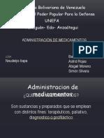 Administacion de Medicamentos