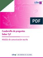 Cuadernillo de Preguntas Comunicacion Escrita Saber Tyt 2019 (2)