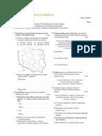 SPR 1 Położenie i Środowisko Przyrodnicze Polski
