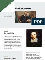 bradley alford - william shakespeare