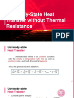 Unsteady-State Heat Transfer without Internal Heat Generation