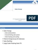 20180421 Solar Energy