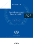 Good Laboratory Practice Glp