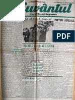 Cuvantul anul XVII (serie noua) nr. 59, 11 decemvrie 1940