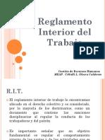 9.- Reglamento Interior Del Trabajo