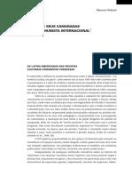 RIDENTI, M. Jorge Amado e Seus Camaradas No Círculo Comunista Internacional