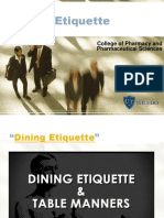 Dining Etiquette CPPS