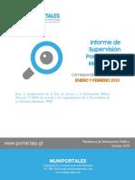 Monitoreo Completo Purulhá Enero-febrero 2019