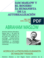 Abraham Maslow y Carl Rogers