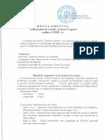Regulament Concurs Valeriu Cupcea 2016