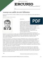 Los Abonos Verdes,Clave Para El Exito de La Produccion Organica Fia 2004