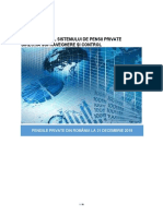 Pensiile Private La 31 Decembrie 2018