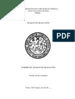 Guía Para Presentar Trabajos de Graduación Normas Apa