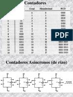 10 Contadores Asíncronos (de Rizo)
