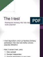 Uji T-test_Ganjil 2015