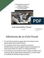 Ciclo Geomorfico Fluvial