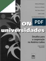 ONGS e as universidades