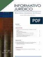 Informativo Juridico - Nº 41, Septiembre 2007