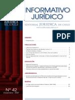 Informativo Juridico - Nº 42, Diciembre 2007.pdf
