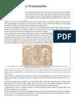 Oraciones en Latin