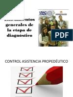 2. Lineamientos Generales de La Etapa de Diagnóstico 2019