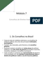Módulo 7