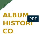 Album Historico