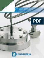Badotherm Diaphragm Seal Solutions 1x6 LR