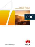 Huawei AR160 Series Enterprise Routers Datasheet