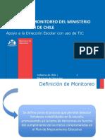 Sistemas de Monitoreo Del Ministerio de Educación de Chile