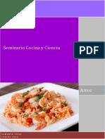 SGA Cocina y Ciencia Cocciones Con Arroz