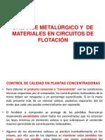 Balance Metalúrgico en Circuitos de Flotacion Ok