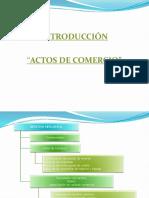 Introducción Actos de Comercio 19 2