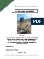 estudio topografico----huanuco