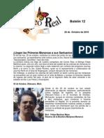 Boletín 12 de correo real de las Mariposas Monarca. Temporada 2010-2011
