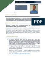 Curriculum Del Docente- Genérico