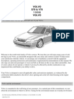 Volvo s70 v70 Owners Manual 1998